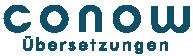 logo andreas conow uebersetzer italienisch